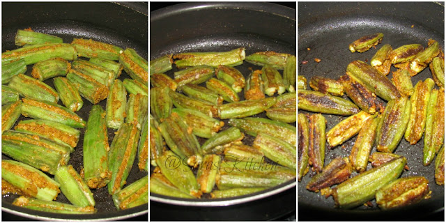 Stuffed Okra/ Stuffed Bhindi/ stuffed Ladyfinger