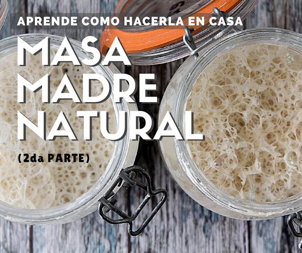 Cómo hacer masa madre natural (II parte)