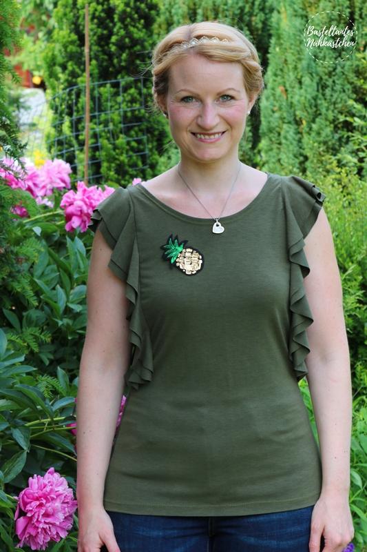Shirt (Kleid) Issum von Schnittquelle mit Volants