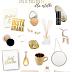 Pomysły na świąteczne prezenty: Złote prezenty dla estetki