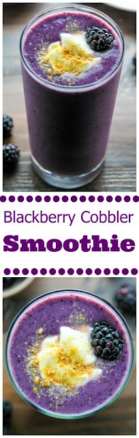 Blackberry Cobbler Smoothie