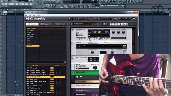 Cara Mudah Meload Guitar Rig 5 Untuk VST Pada FLstudio
