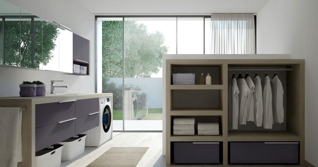 4bildcasa come arredare la lavanderia - Arredo per lavanderia di casa ...
