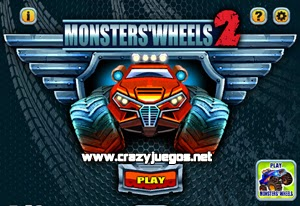 Jugar Monsters Wheels 2