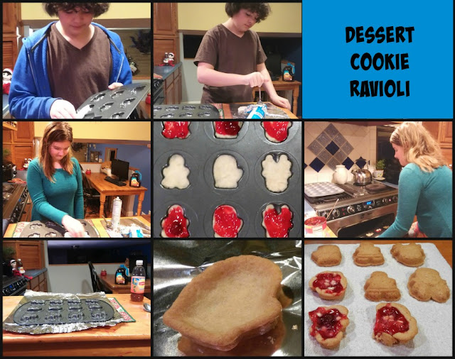 holiday cookie ravioli dessert recipe