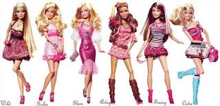 Coleção Barbie Fashionista 2009