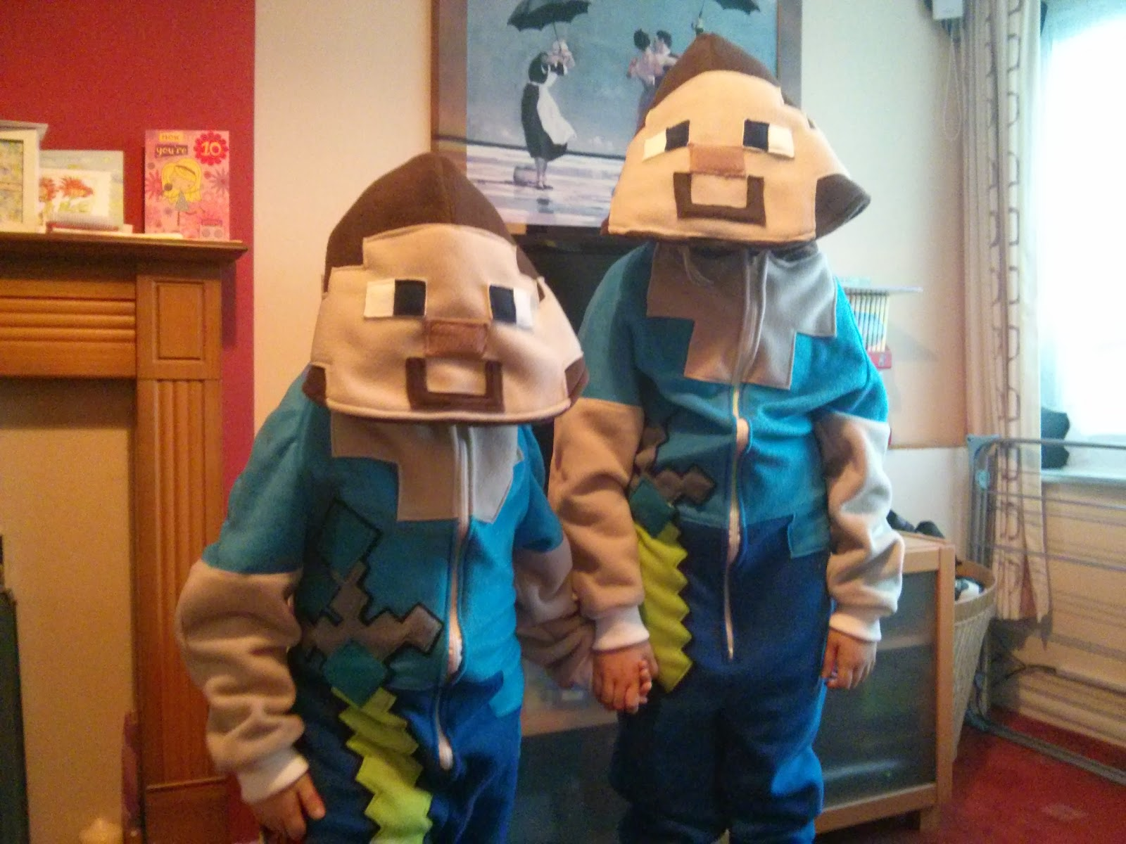 Steve from Minecraft Onesies