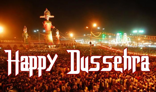 Happy Dussehra 2017 Wishes in English for Whatsapp