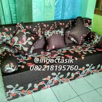 Sofa bed Inoac motif bunga inoactasik