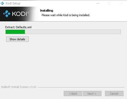 Proses Install Kodi