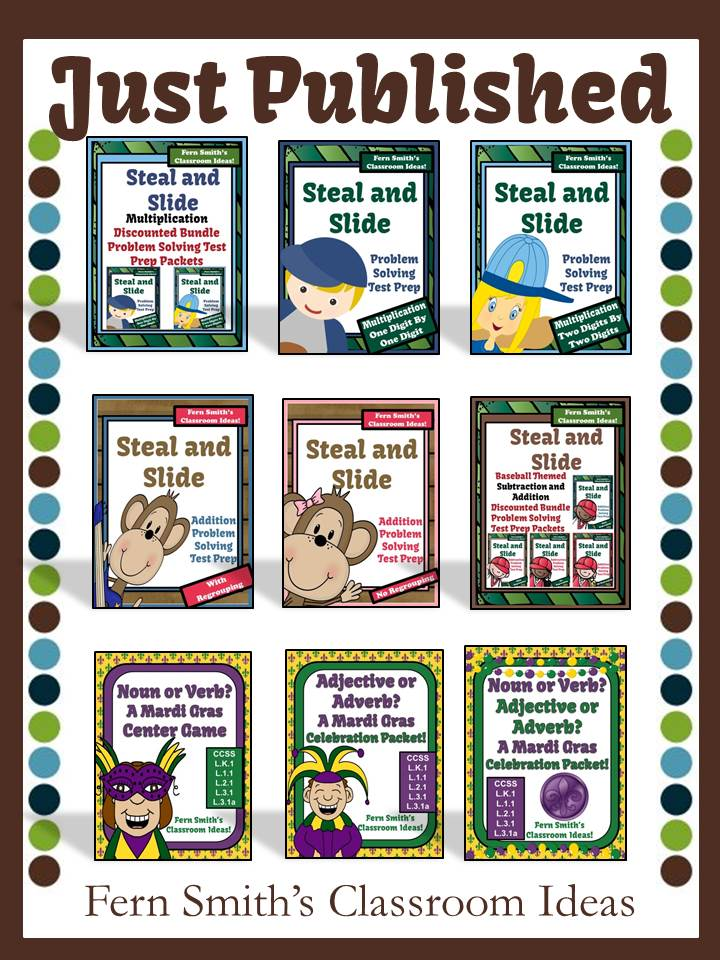 Fern Smith's Classroom Ideas 3 Million Strong TPT Sale Just Published
