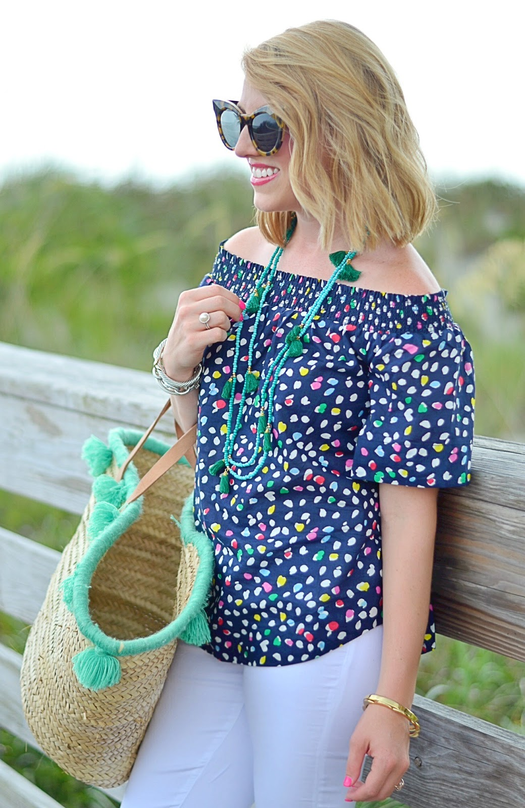 J.Crew Off The Shoulder Top