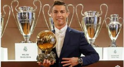 "Cristiano Ronaldo Beats ""Rival"" Lionel Messi To Win His Fourth Ballon d'Or"