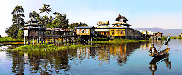 Inle lake monastery of the jumping cats