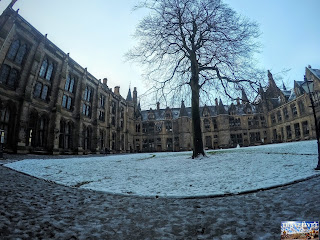 Écosse Glasgow l'Université de Glasgow