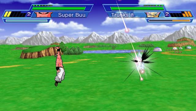 Dragon Ball Z Shin Budokai Another Road Gameplay