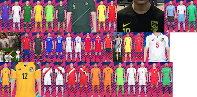 PES 2018 National Team Kitpack v5 by Hawke