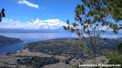 Keindahan Panorama Alam Danau Toba Sipinsur Lintong Nihuta