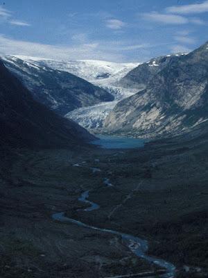glaciar Nigards en 1998