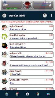 Download BBM Kampretto v1 based BBM v3.2.3.11 Apk Terbaru