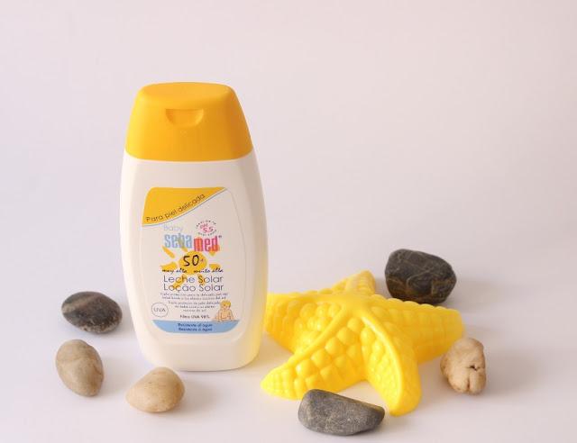 Sebamed Baby leche solar 50 spf