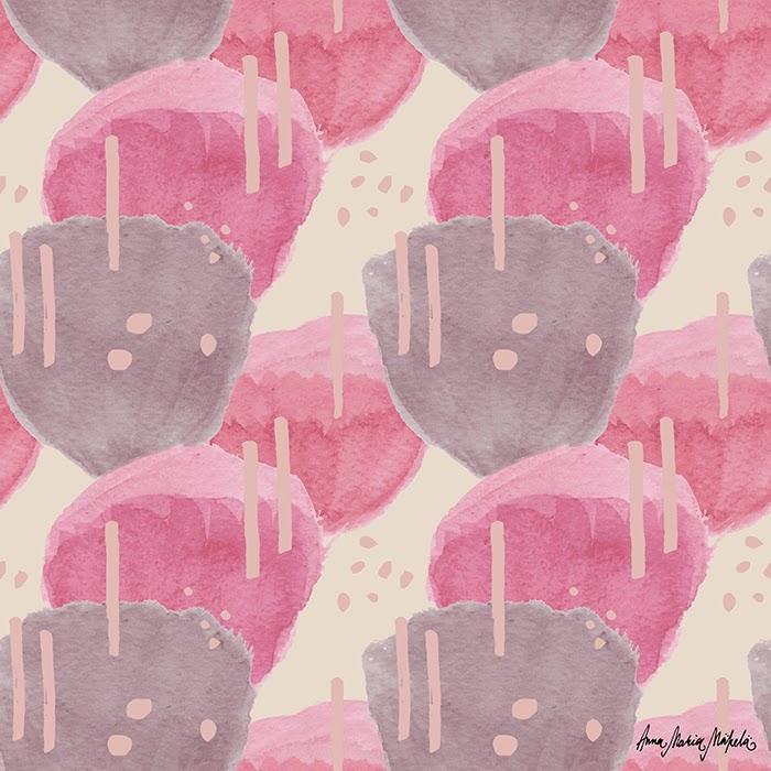 kaktuksen kukat pink