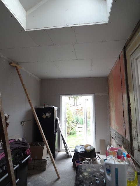 plasterboard kitchen ceiling