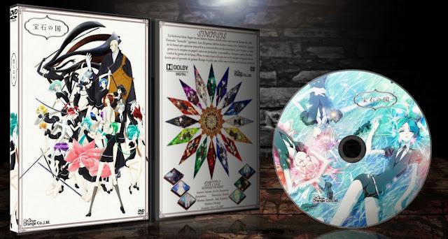 Houseki no Kuni | Cover DVD | MEGA |