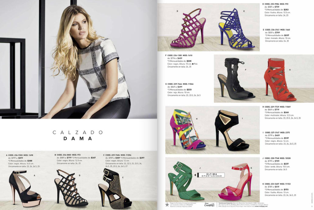 Zapatos andrea 2016 ofertas - Hogarium catalogo de ofertas ...