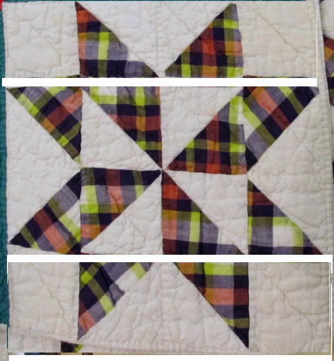 Quilt pattern inspired by quilt from Arcadia Florida.