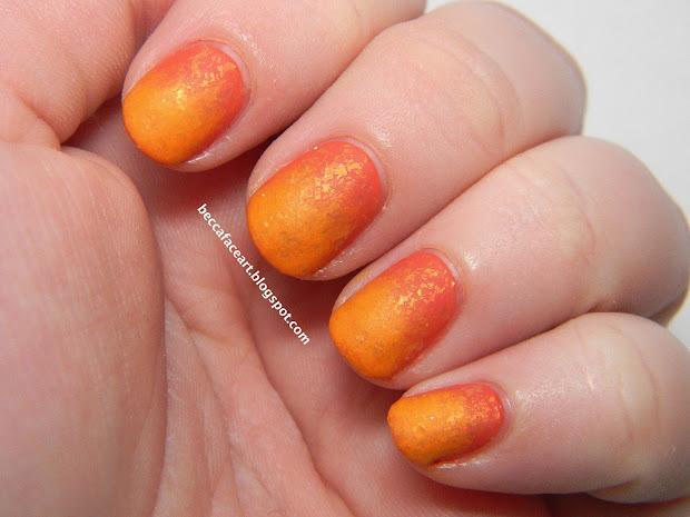 becca face nail art 31 day