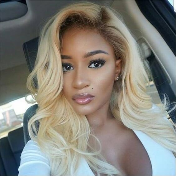 blonde lace wig