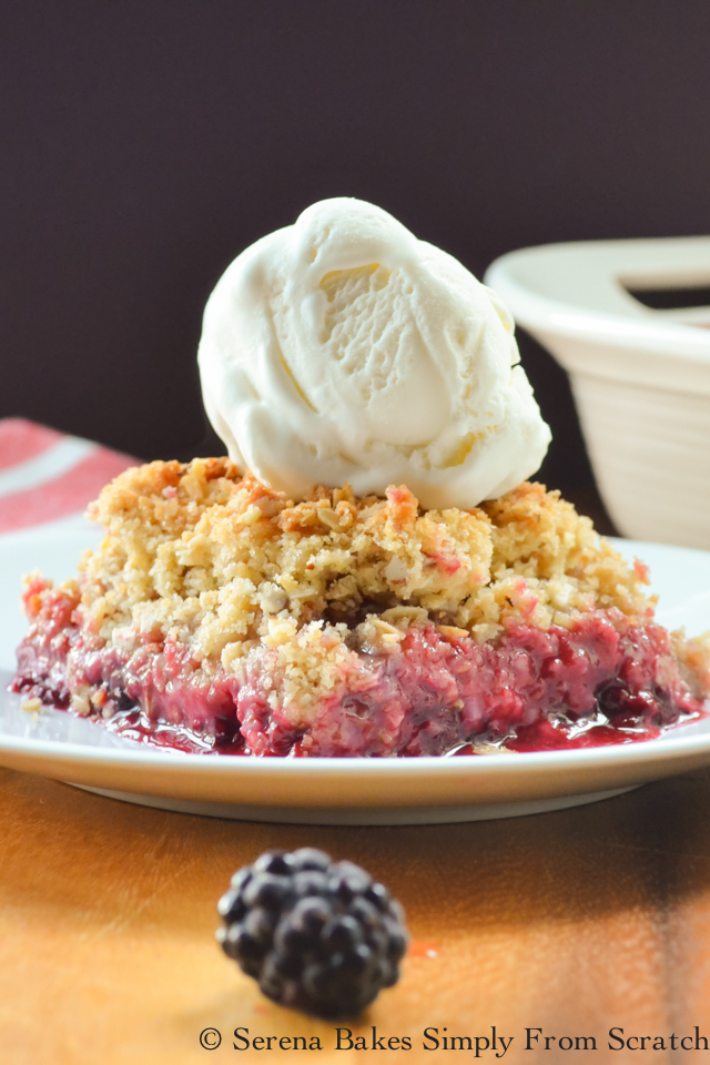 Blackberry Crisp