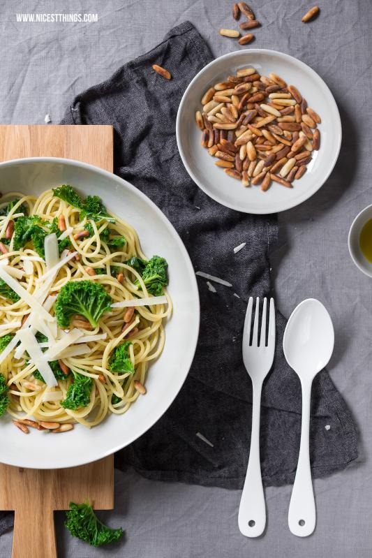 Grünkohl Pasta Rezept Kale Spaghetti #kale #spaghetti #gruenkohl #pasta