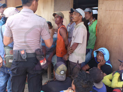 Alami Tindak Kekerasan, Polisi Amankan Buruh Proyek Milik Kemenkumham