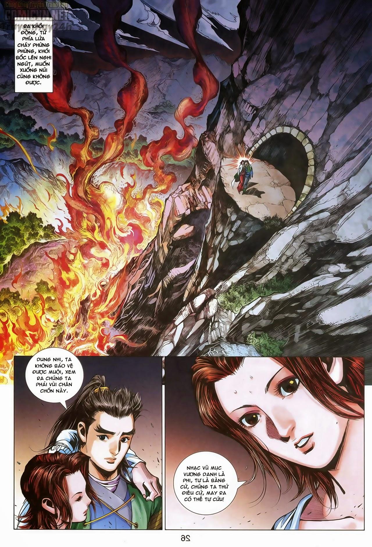 Anh Hùng Xạ Điêu anh hùng xạ đêu chap 69: hồn đoạn thiết chưởng phong trang 27