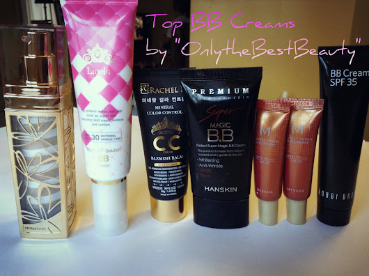 The BEST of the BEST BB CREAMS ( PICS & Swatches)