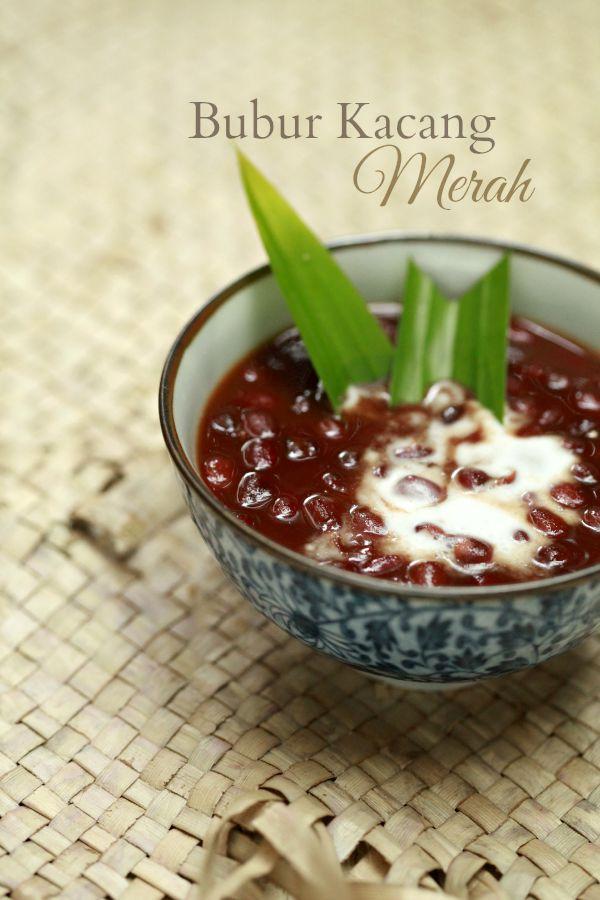 Resepi Bubur Kacang Merah Dengan Pulut Hitam Aneka Resepi Bunda