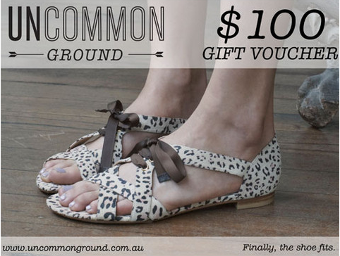 uncommon ground 100 voucher in charity auction. Black Bedroom Furniture Sets. Home Design Ideas