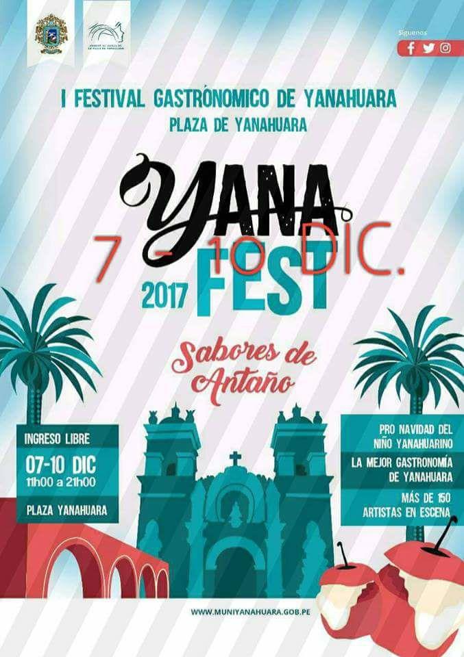 FESTIVAL GASTRONÓMICO YANA FEST 2017