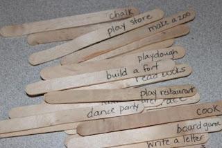 an activity a day idea