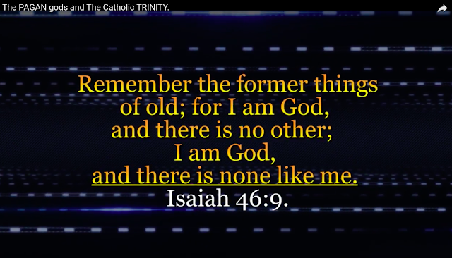Remember the former things of old; for I am God, and there is no other; I am God, and there is none like me. Isaiah 46:9.