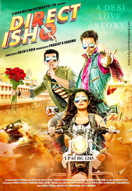 Direct Ishq (2016) Hindi 350MB HDRip 480p x264
