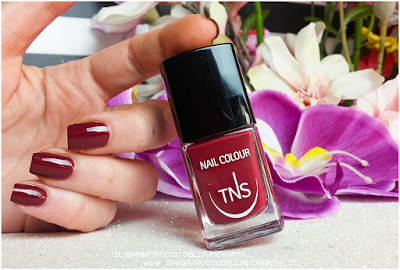 nails red bordeaux polish sweet temptation collection, polish, lipstick, rossetti , smalti unghie by tns cosmetics