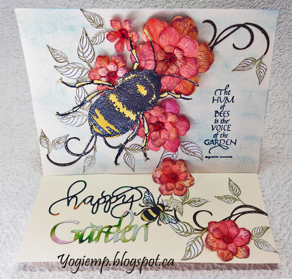 http://www.yogiemp.com/HP_cards/MiscChallenges/MiscChallenges2019/Mar19_EaselPinkInkBee_ECDHappyGarden_TheHumOfBees.html