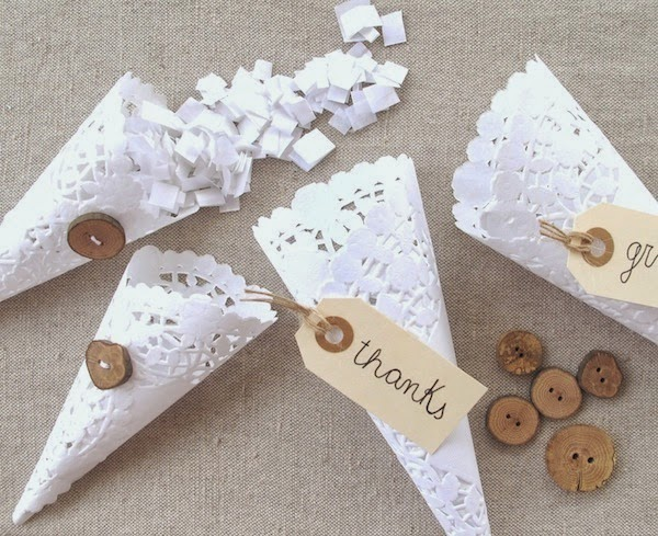 Blog de tu d a con amor invitaciones y detalles de boda - Hacer conos papel ...