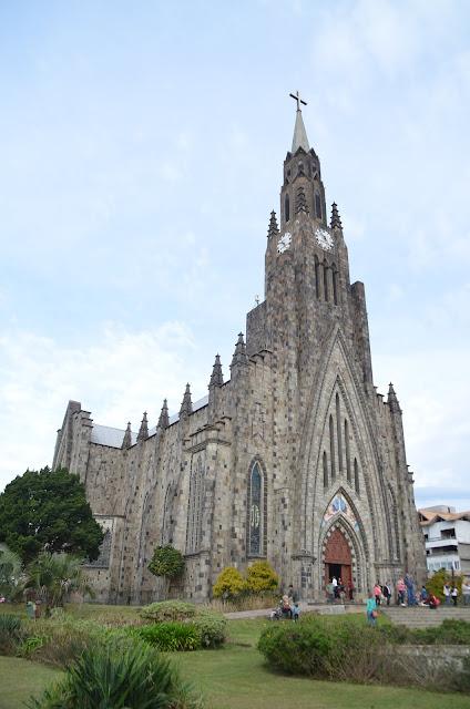 Catedral de Canela.