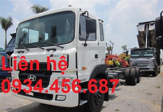 Giá lăn bánh xe tải 15 tấn Hyundai HD260