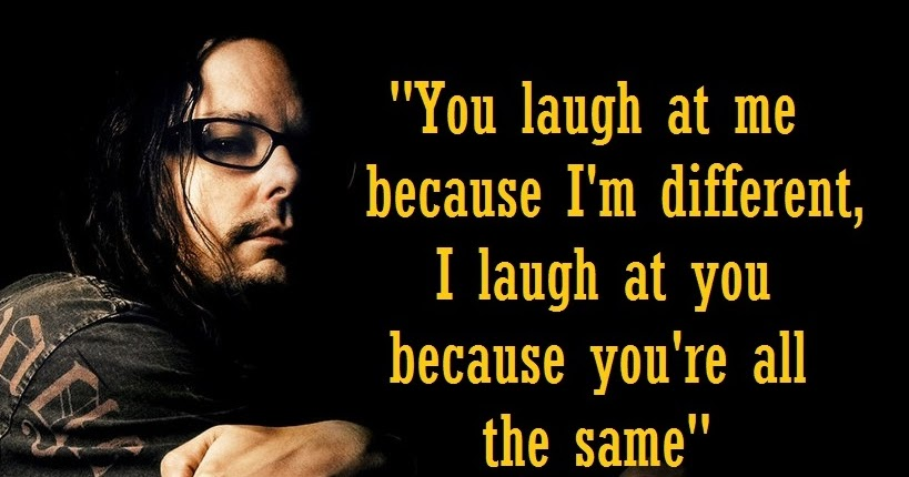 The World Best Quotes You Laugh At Me Because Im Different I