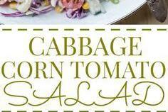 Cabbage Corn Tomato Salad